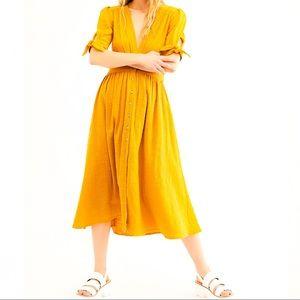 NWT Free People Love of My Life Midi Dress